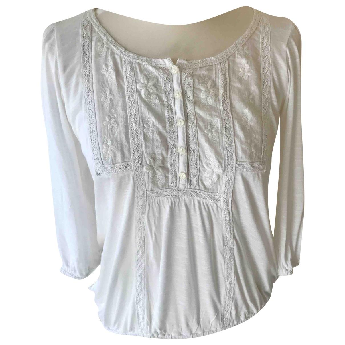 Ralph Lauren Denim & Supply - Top   pour femme en coton - blanc