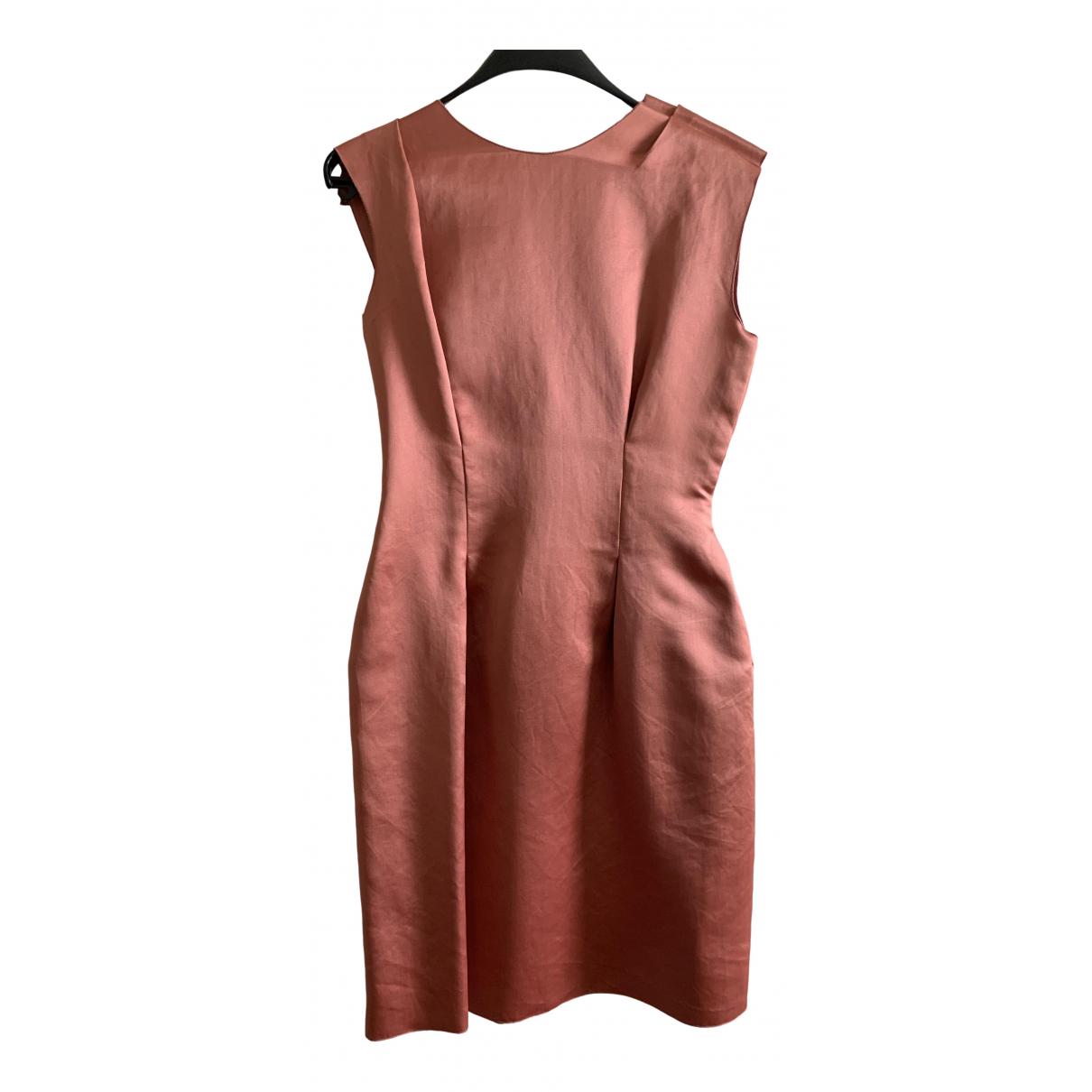 Lanvin \N Pink Silk dress for Women 40 FR