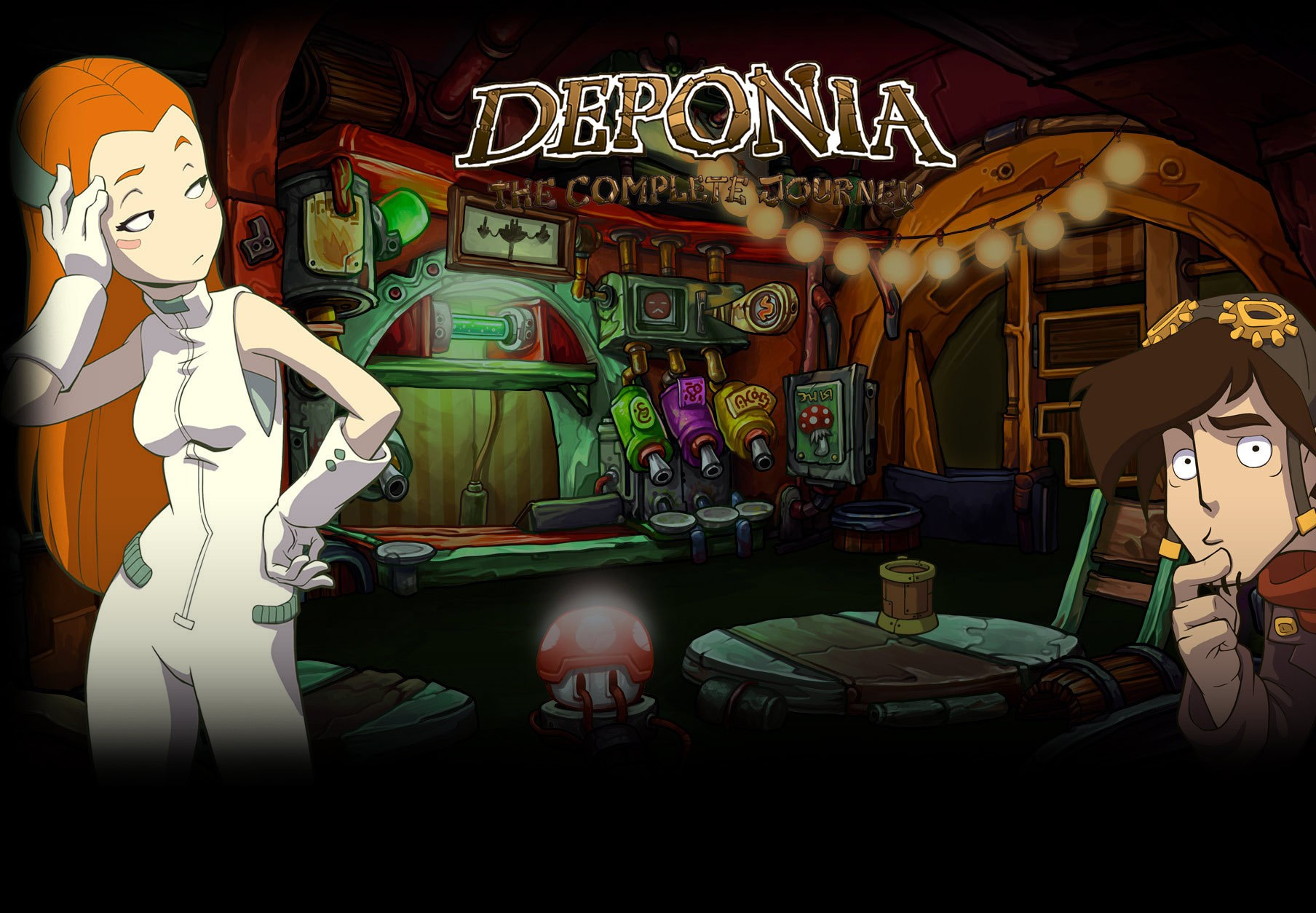 Deponia: The Complete Journey CN VPN Activated Steam CD Key