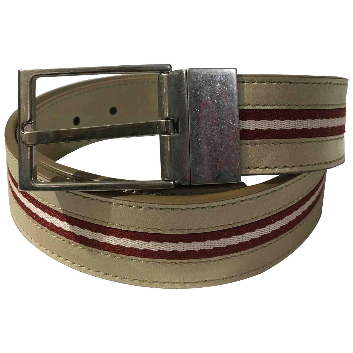 Cinturon de Cuero Bally