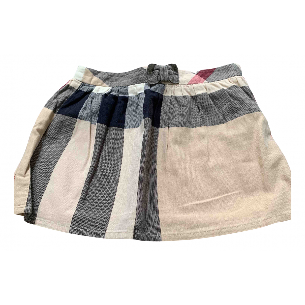 Burberry N Beige Cotton skirt for Kids 2 years - up to 86cm FR