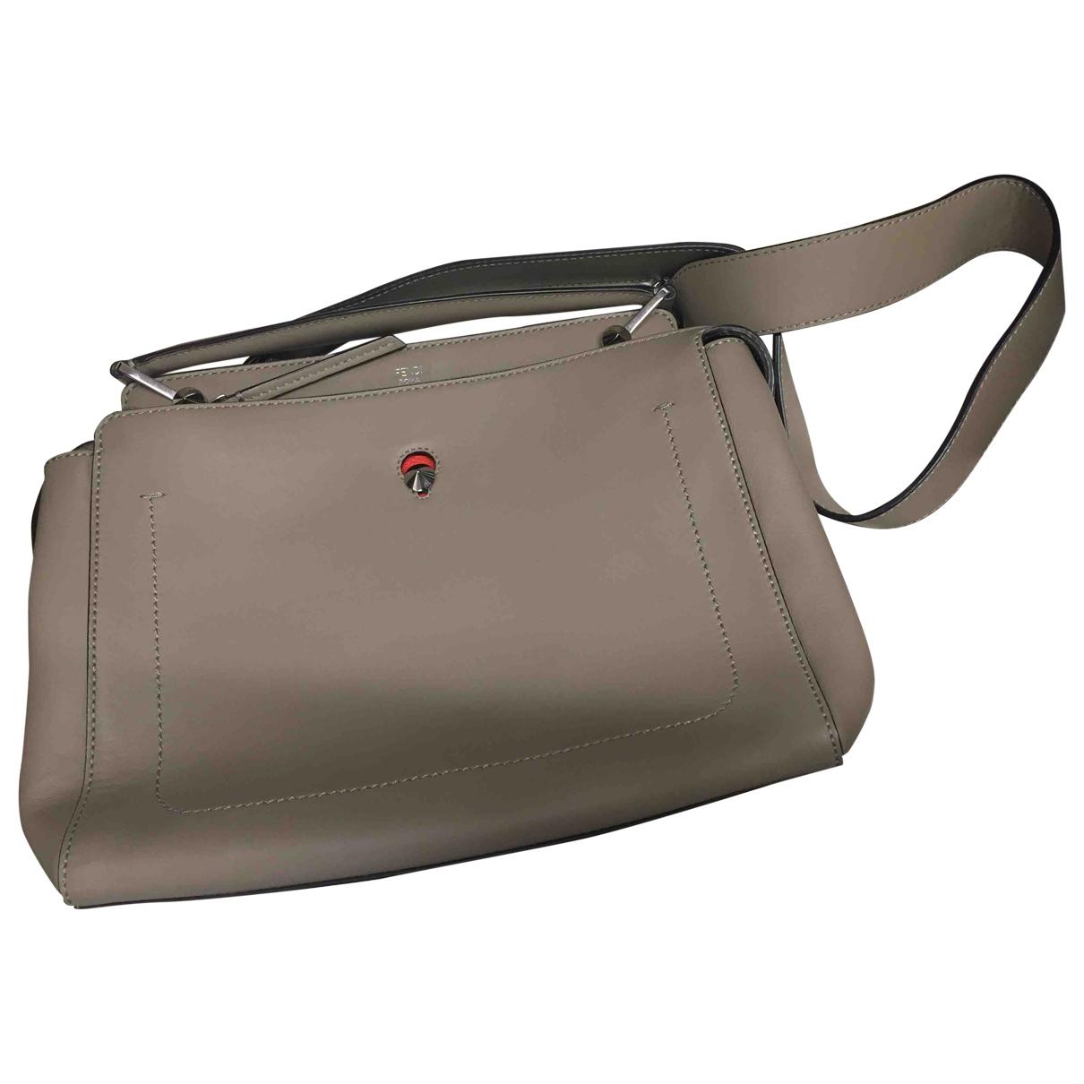 Fendi Dot Com Brown Leather handbag for Women \N