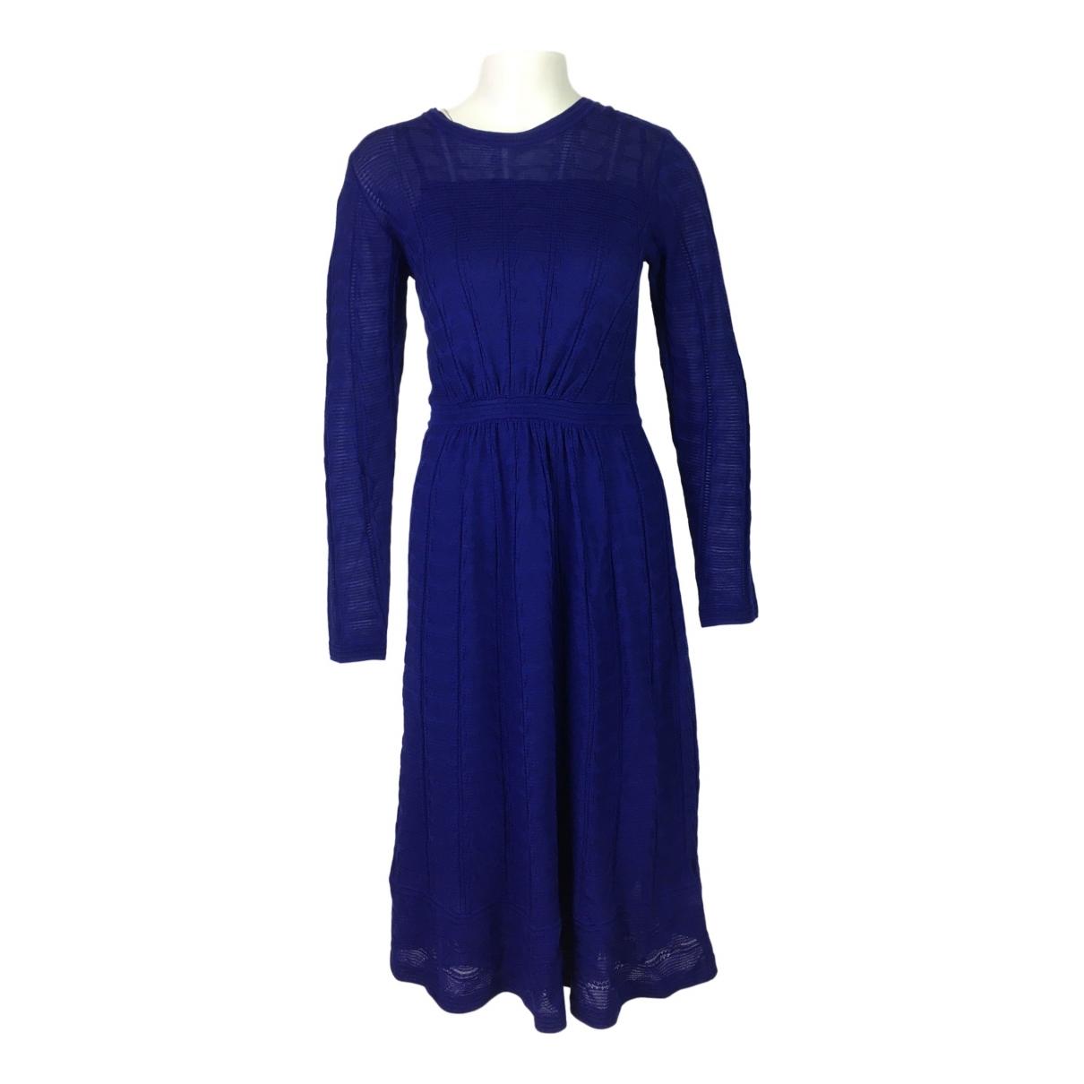 M Missoni \N Kleid in  Blau Wolle