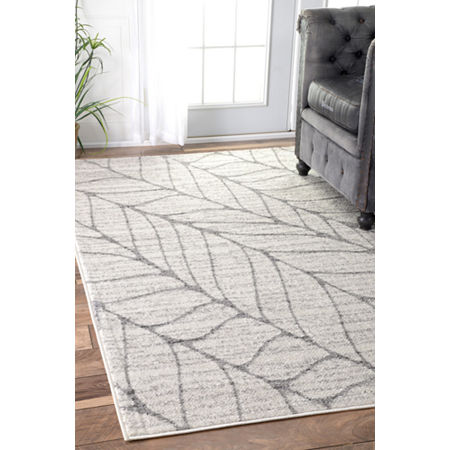 nuLoom Power Loomed Boyce Rug, One Size , Gray