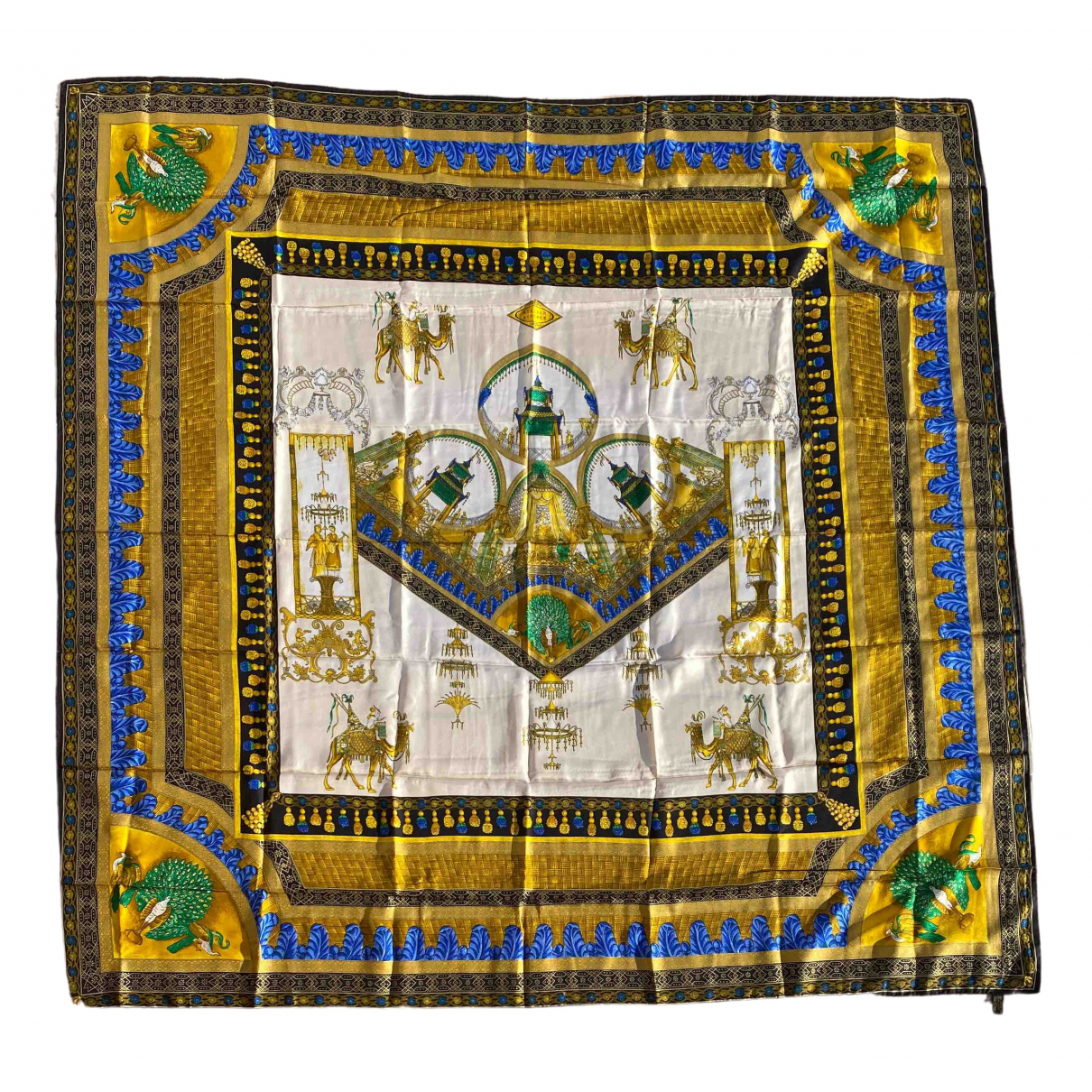 Versace N Multicolour Silk scarf for Women N