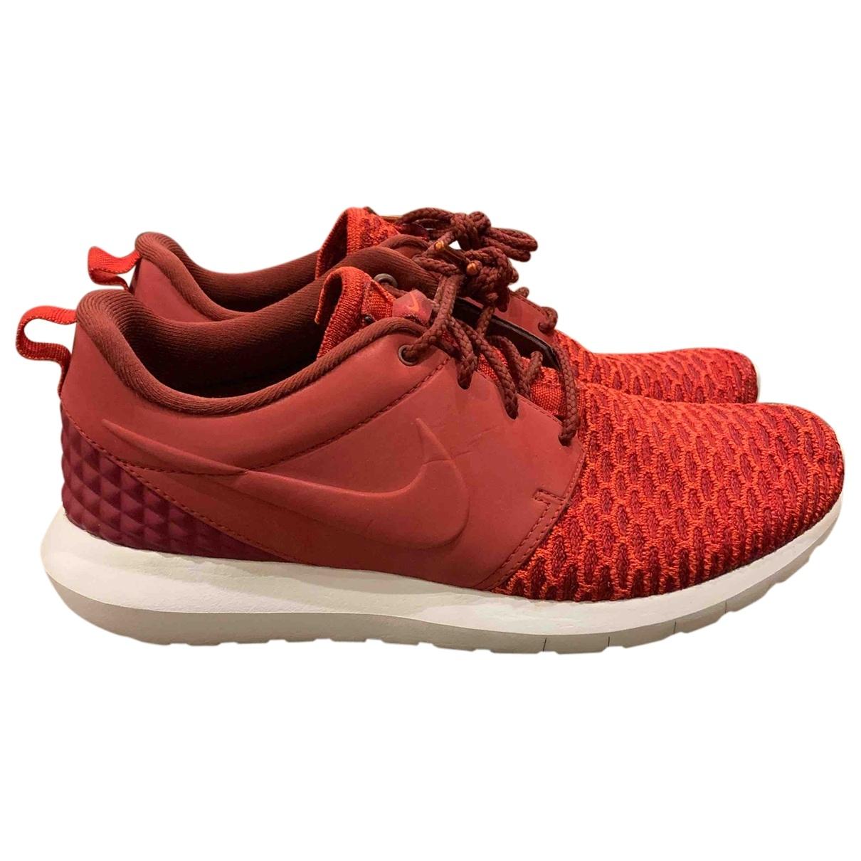 Nike - Baskets Roshe Run pour homme en toile - turquoise