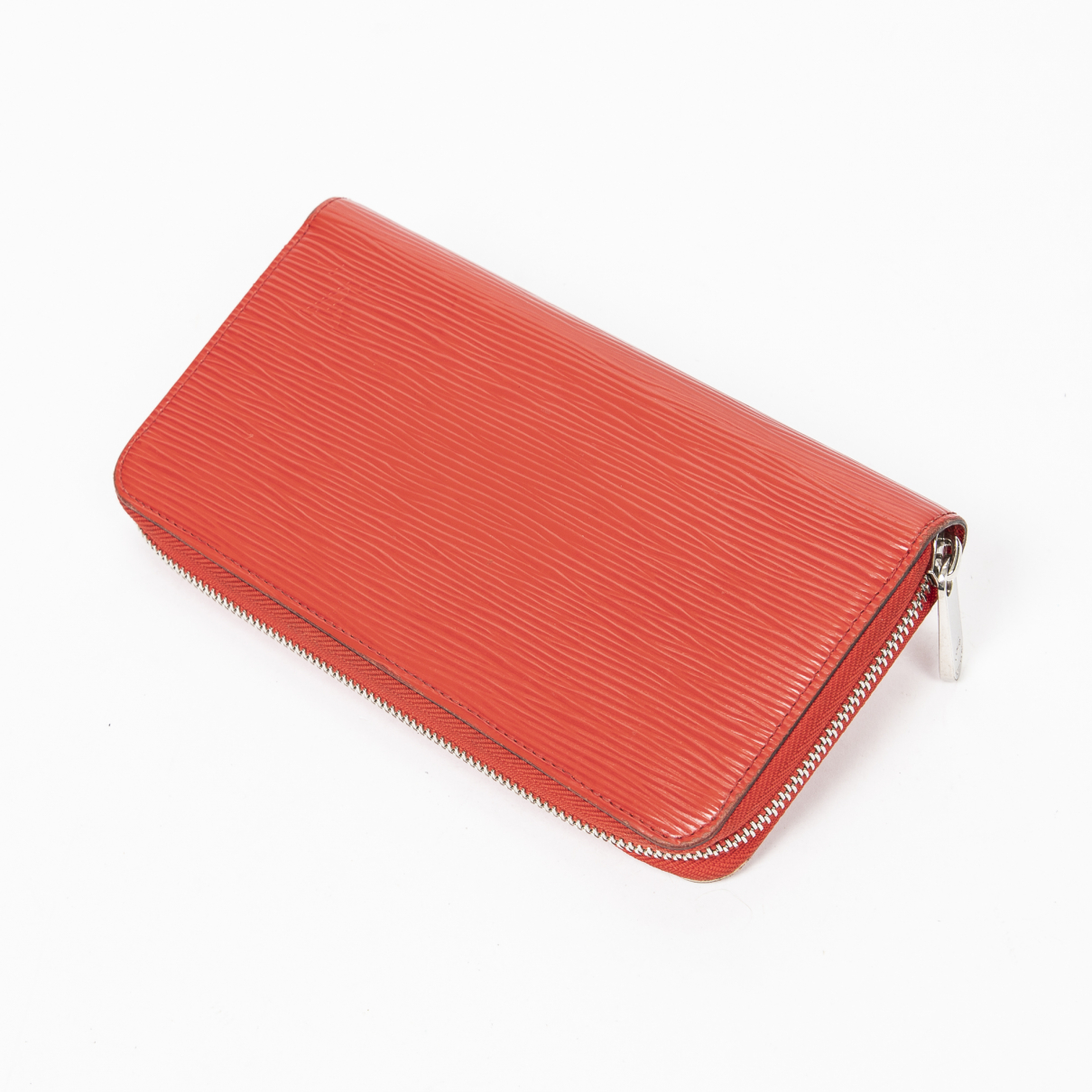 Louis Vuitton Zippy Red Leather wallet for Women \N