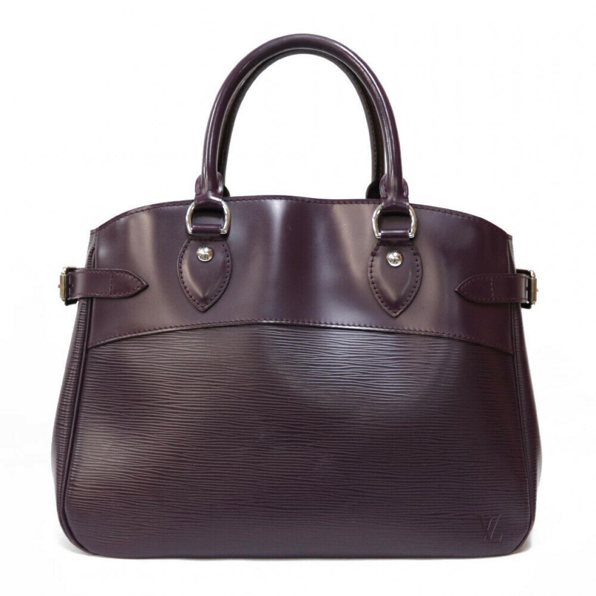 Louis Vuitton \N Handtasche in  Lila Leder