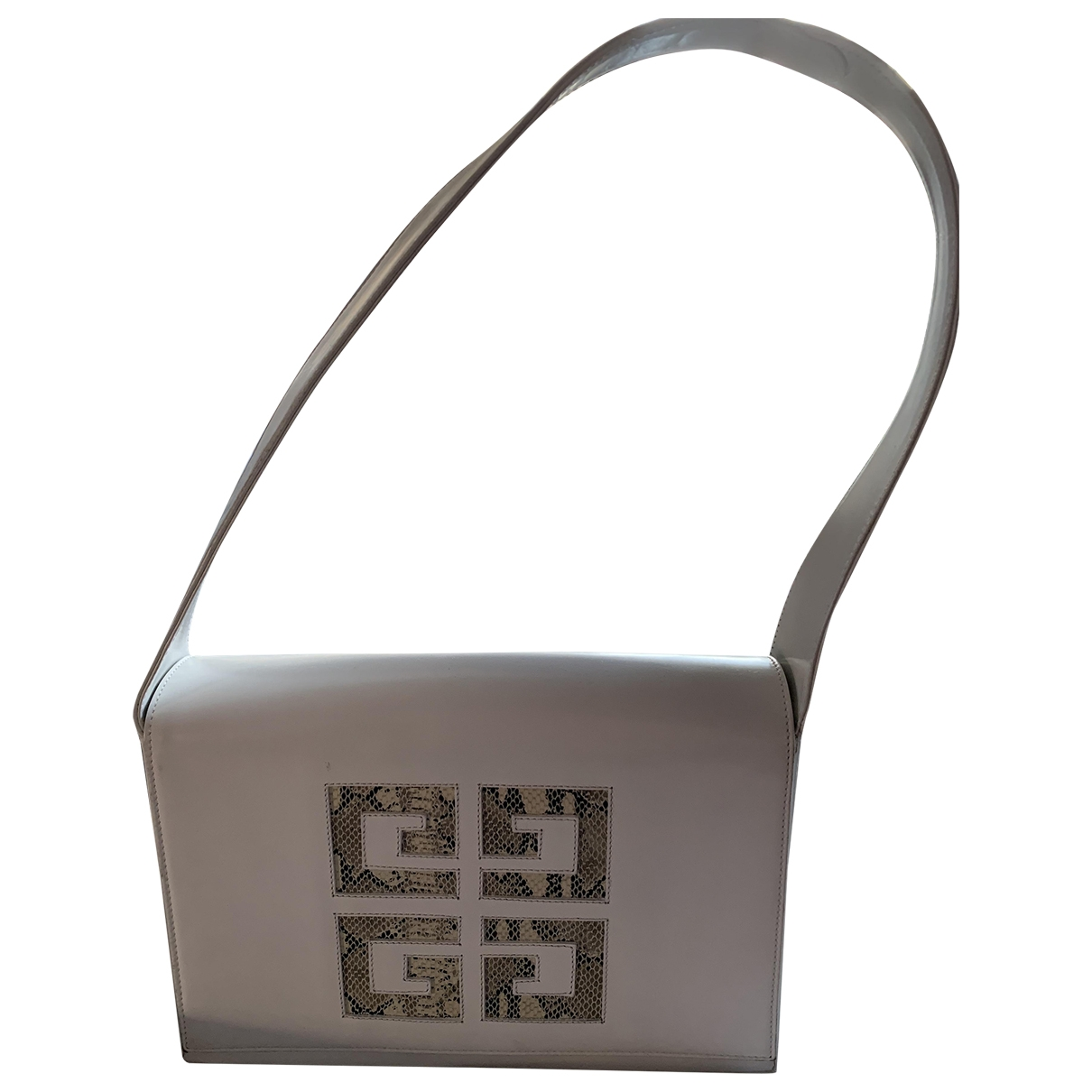 Givenchy \N Handtasche in  Weiss Python