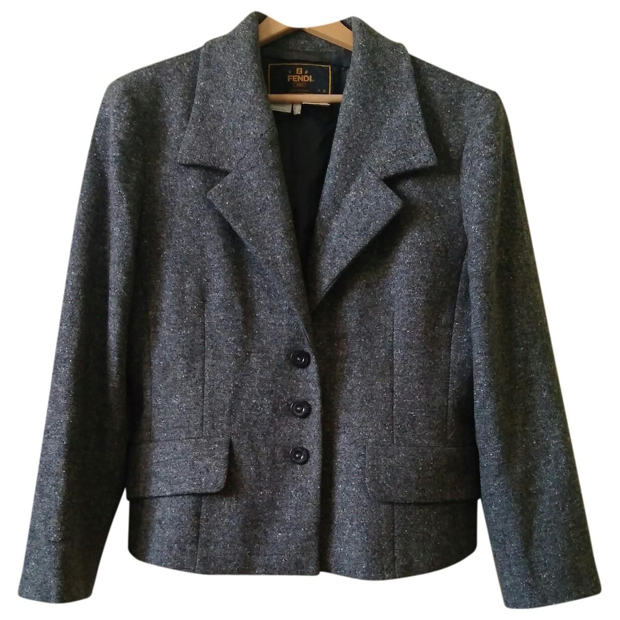 Fendi - Veste   pour femme en laine