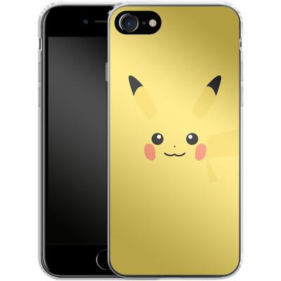 Apple iPhone 7 Silikon Handyhuelle - Pikachu by Lucian Foehr von Lucian Foehr