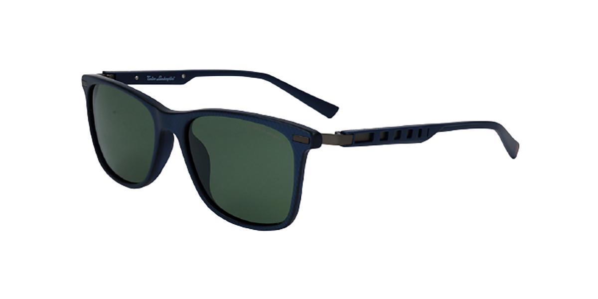 Tonino Lamborghini TL309S S02 Men's Sunglasses Blue Size 55