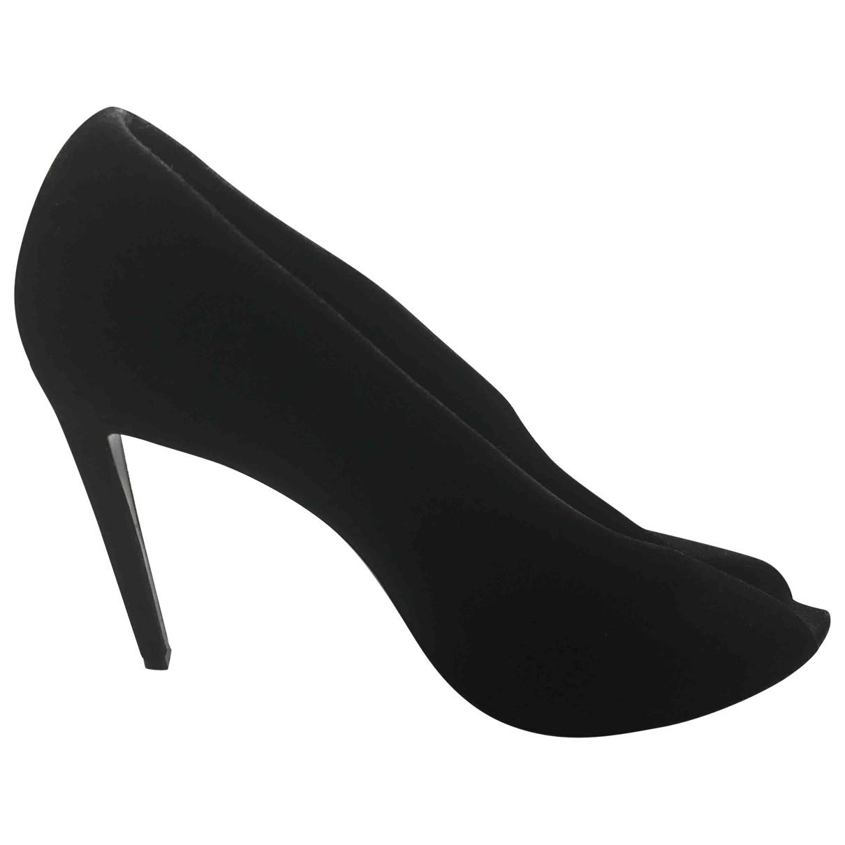 Balenciaga - Escarpins   pour femme en suede - noir