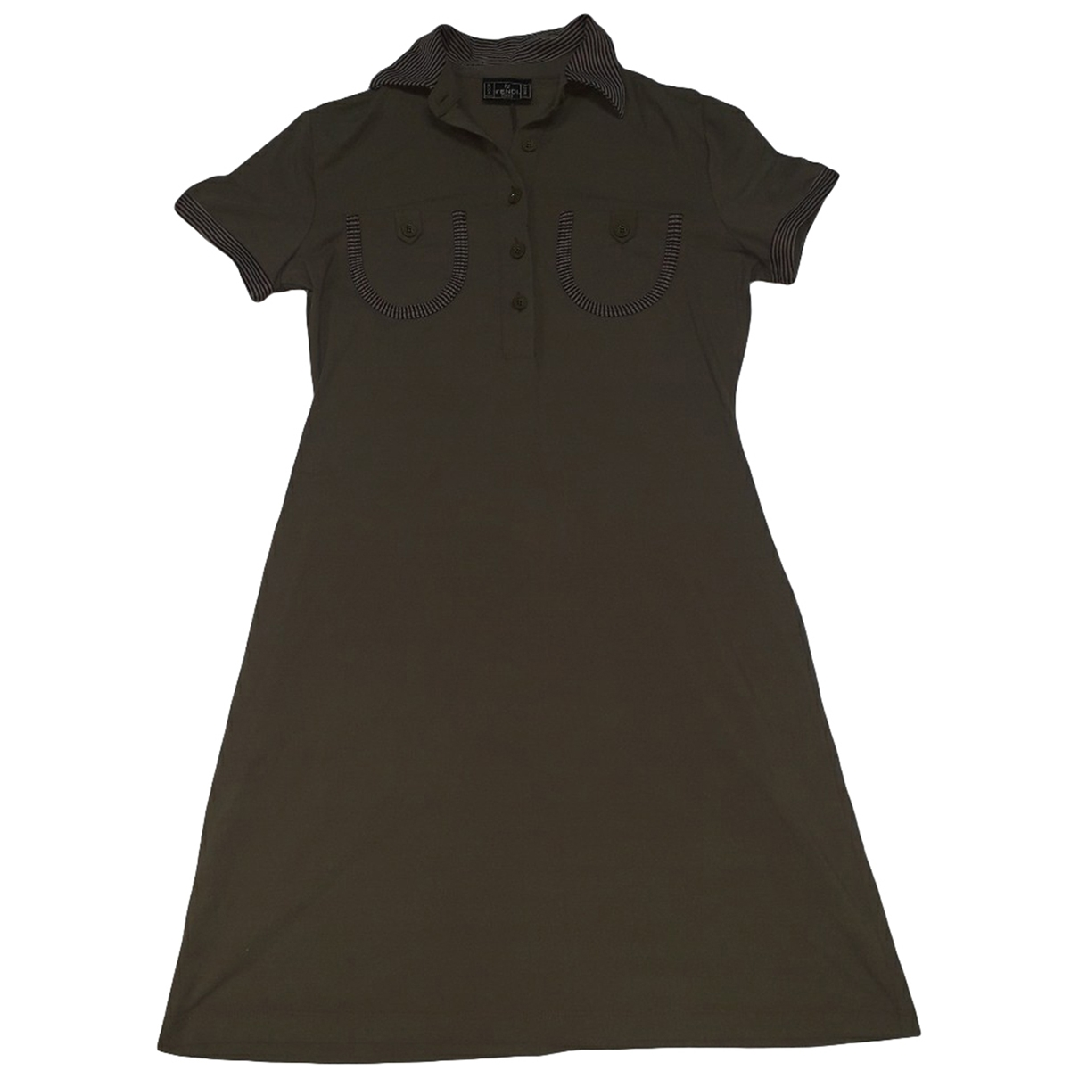 Fendi \N Brown dress for Women 46 IT