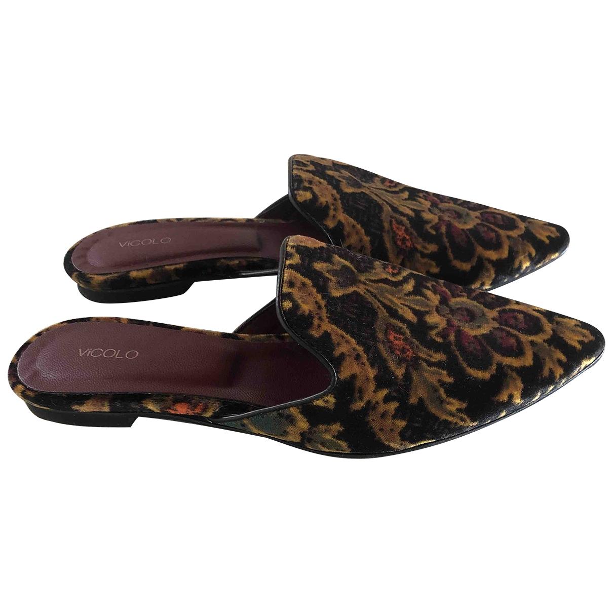 Sandalias de Terciopelo Vicolo