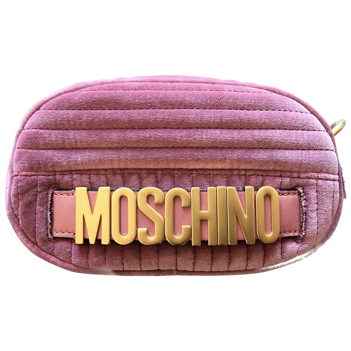 Pochette de Terciopelo Moschino