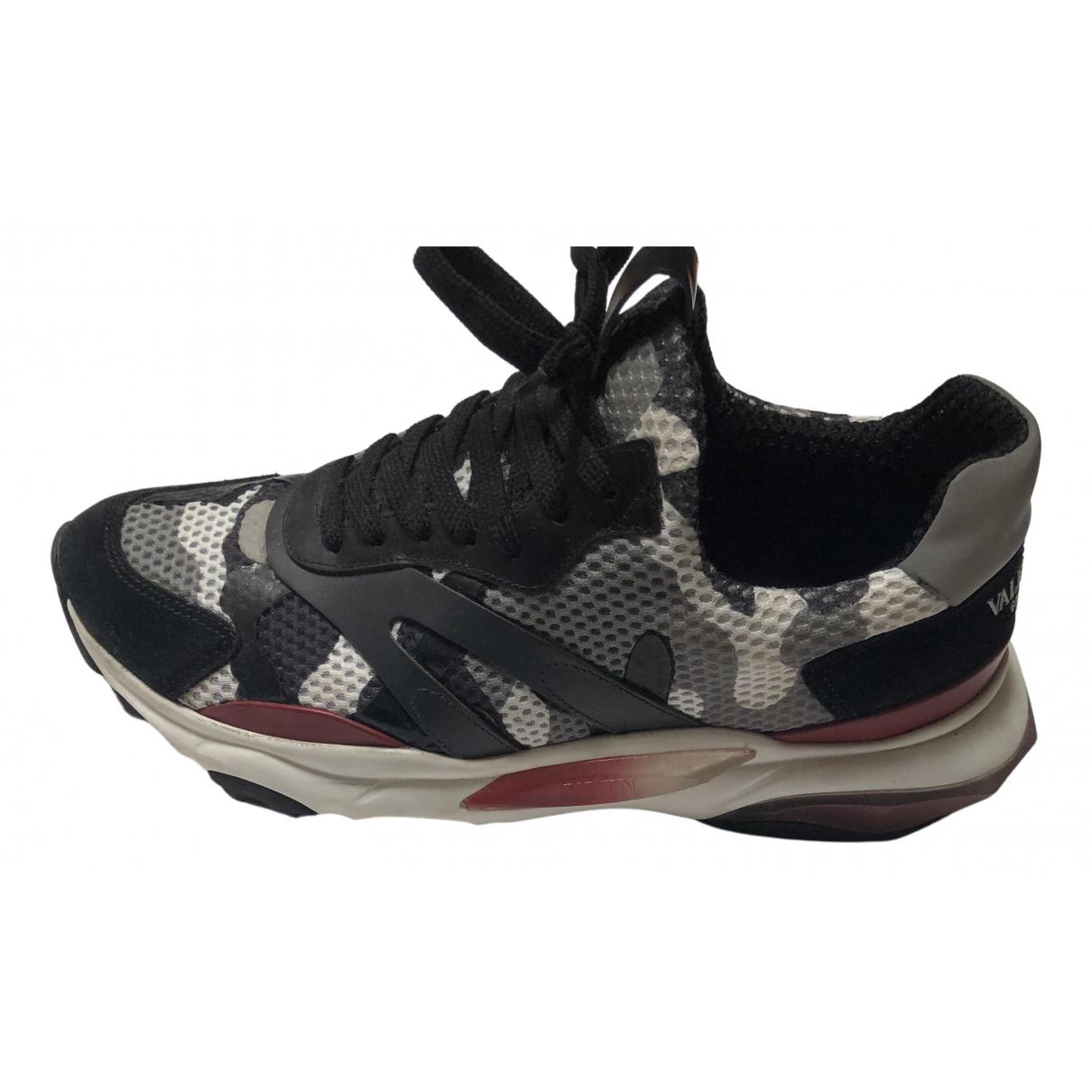 Valentino Garavani Rockrunner Sneakers in  Bunt Polyester
