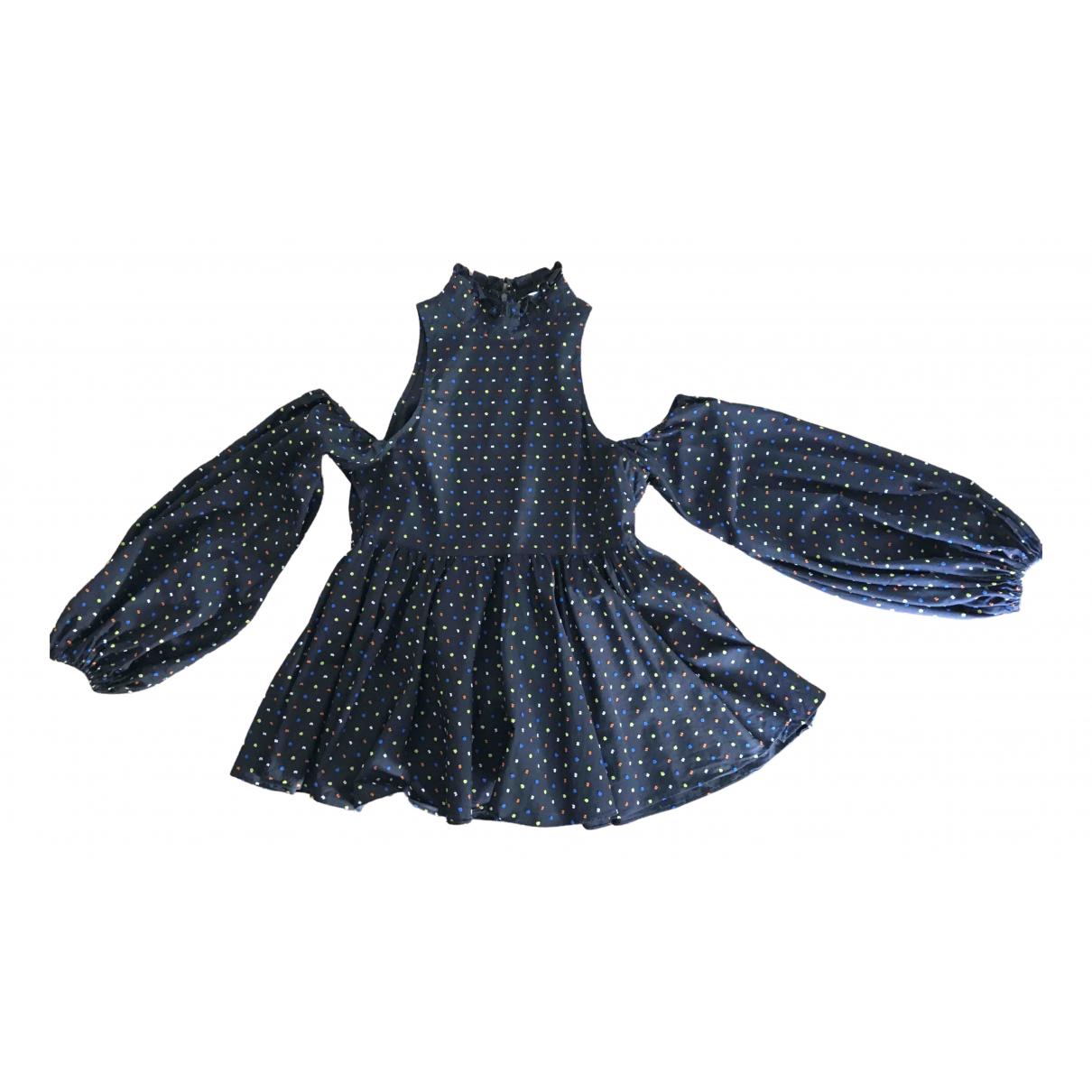 Caroline Constas - Top   pour femme en coton - noir