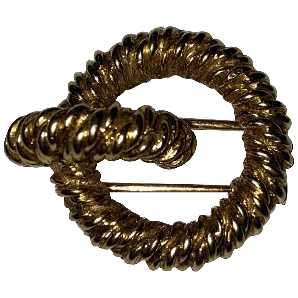 Hermes - Broche   pour femme en or jaune - jaune