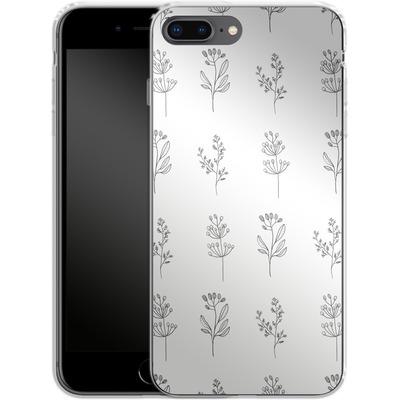 Apple iPhone 7 Plus Silikon Handyhuelle - Botanic Studies von Lucy Bohr