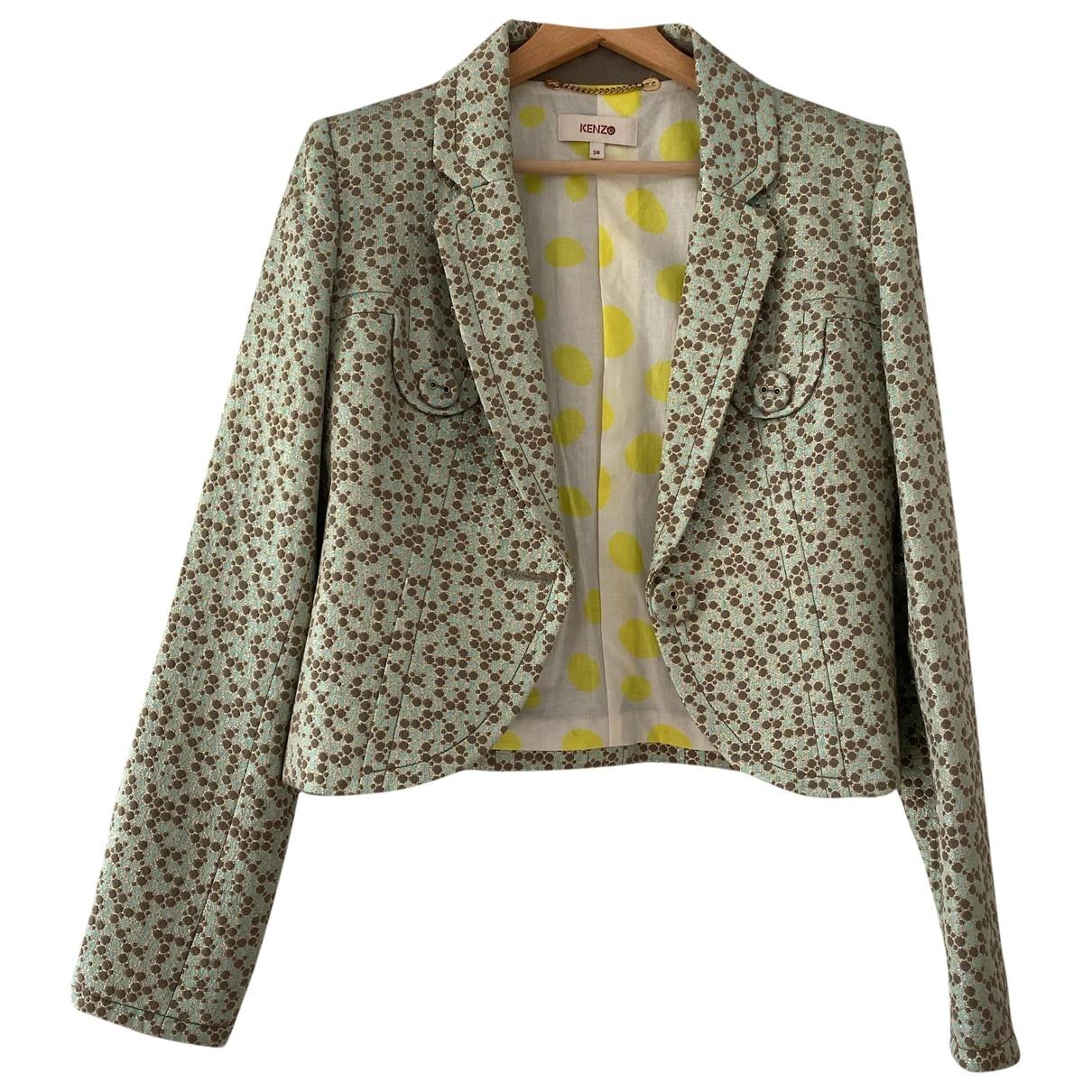 Kenzo \N Multicolour Cotton jacket for Women 38 FR
