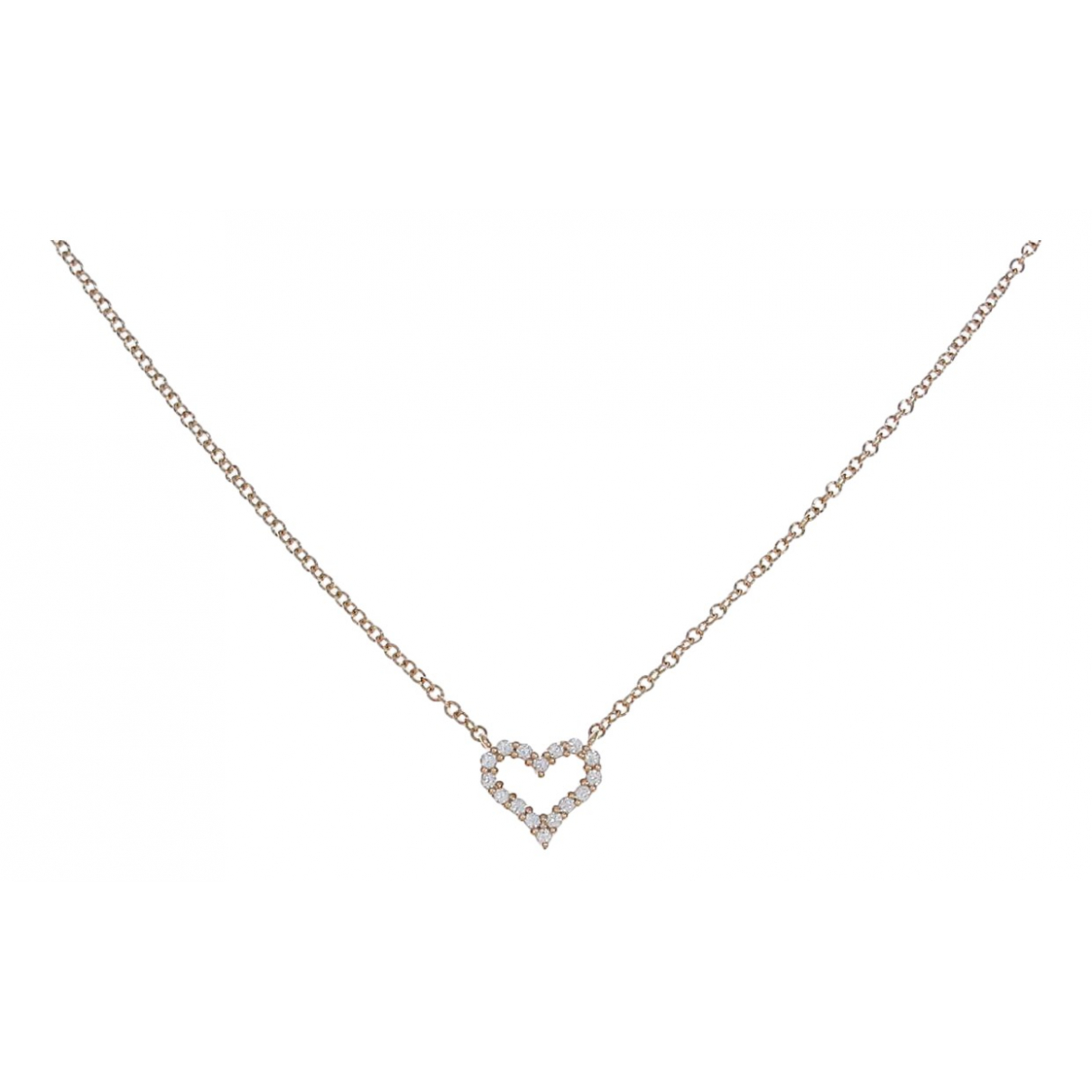 Collar de Oro rosa Tiffany & Co