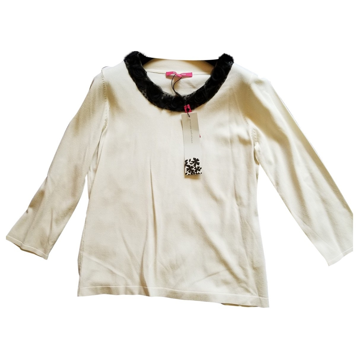 Non Signé / Unsigned \N Ecru  top for Women S International