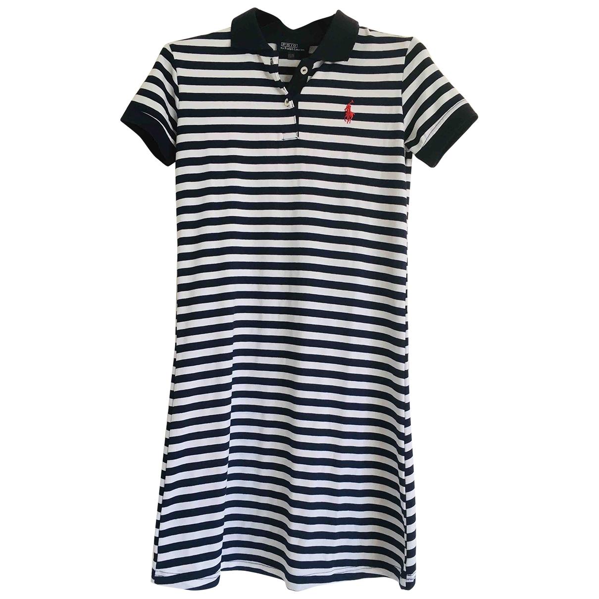 Polo Ralph Lauren \N Navy Cotton dress for Kids 12 years - XS UK