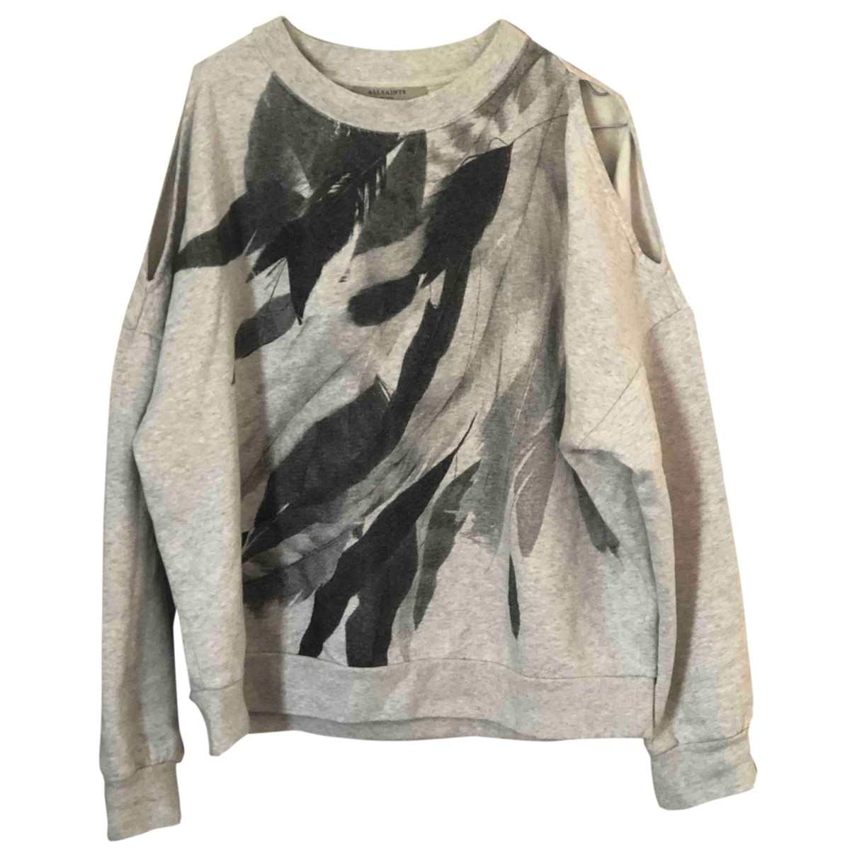 All Saints \N Grey Cotton  top for Women S International
