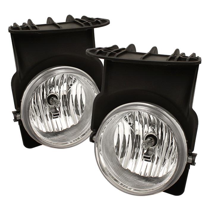 Spyder Auto FL-GS03-C OEM Fog Lights- Clear GMC Sierra 1500   2500   3500 03-06