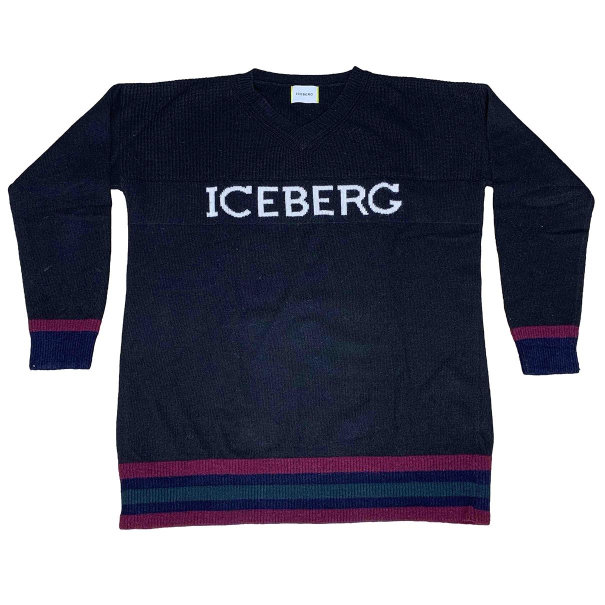 Iceberg \N Pullover in  Schwarz Wolle