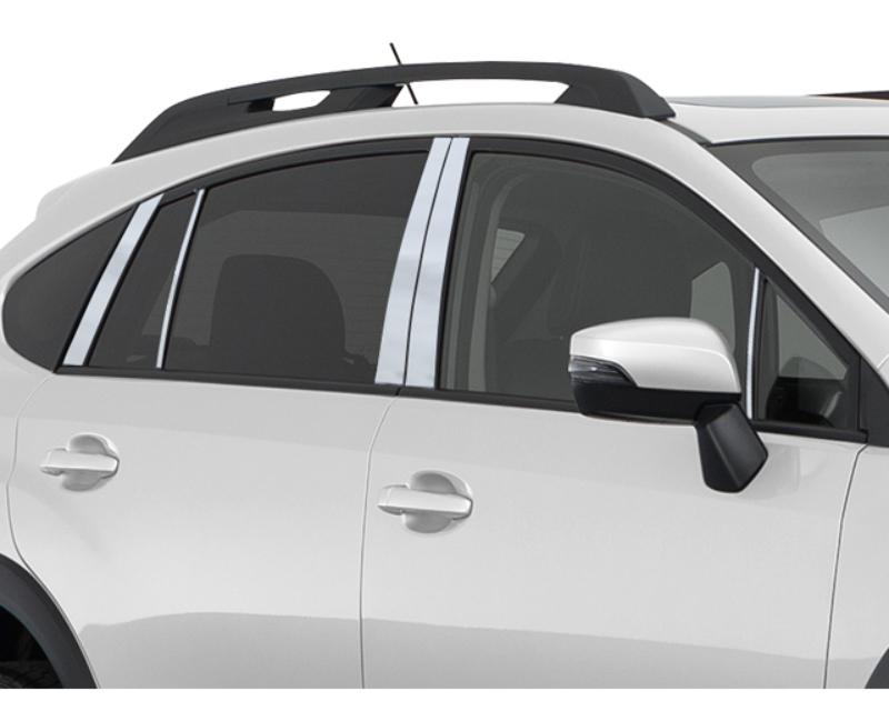 QAA Stainless Steel Pillar Trim 10Pc 2013-2015 Subaru XV Crosstrek