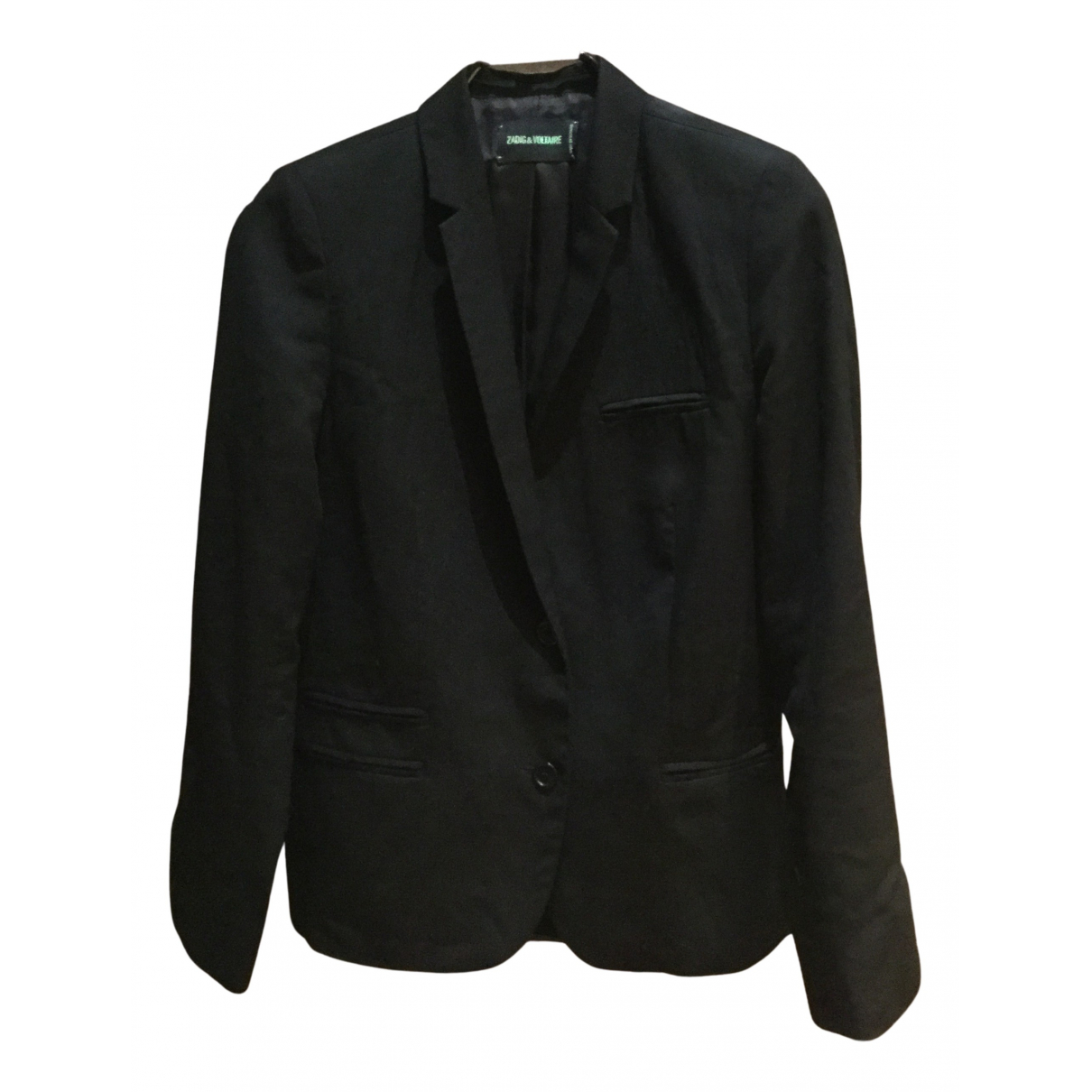 Zadig & Voltaire N Black Wool jacket for Women 36 FR
