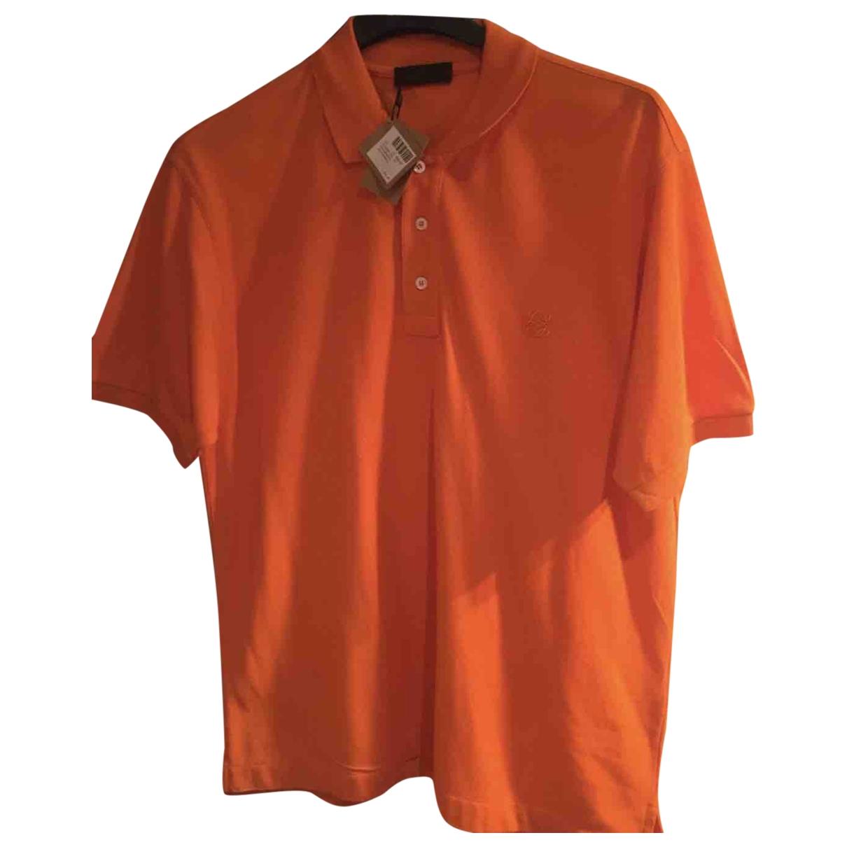 Loewe - Polos   pour homme en coton - orange