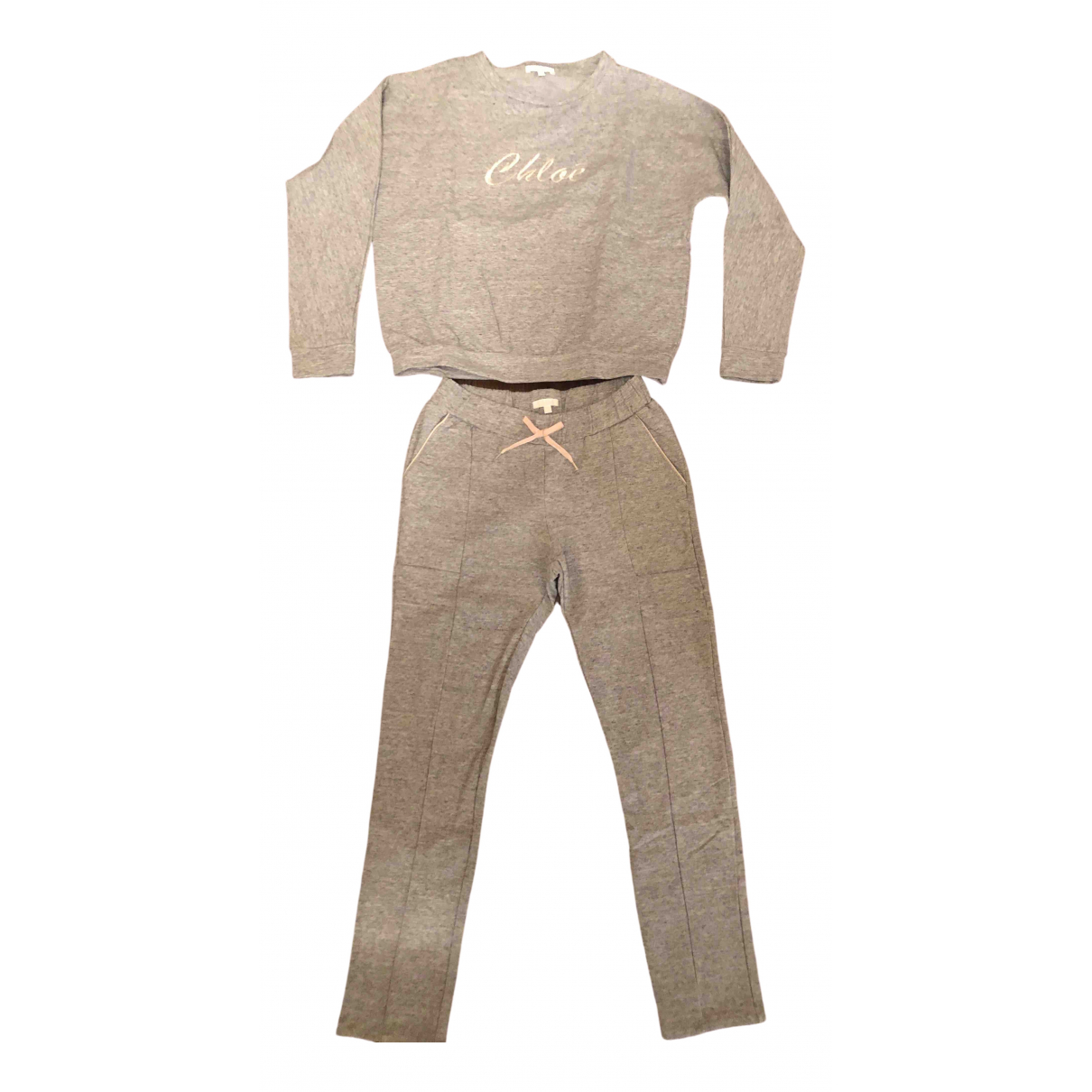 Chloé \N Grey Cotton Outfits for Kids 10 years - up to 142cm FR