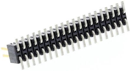 Samtec , FTSH, 40 Way, 2 Row, Straight Pin Header