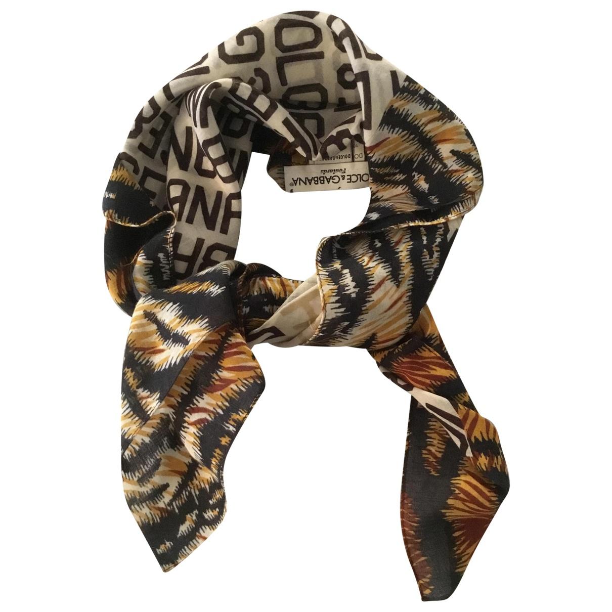 Dolce & Gabbana N Multicolour Cotton scarf for Women N