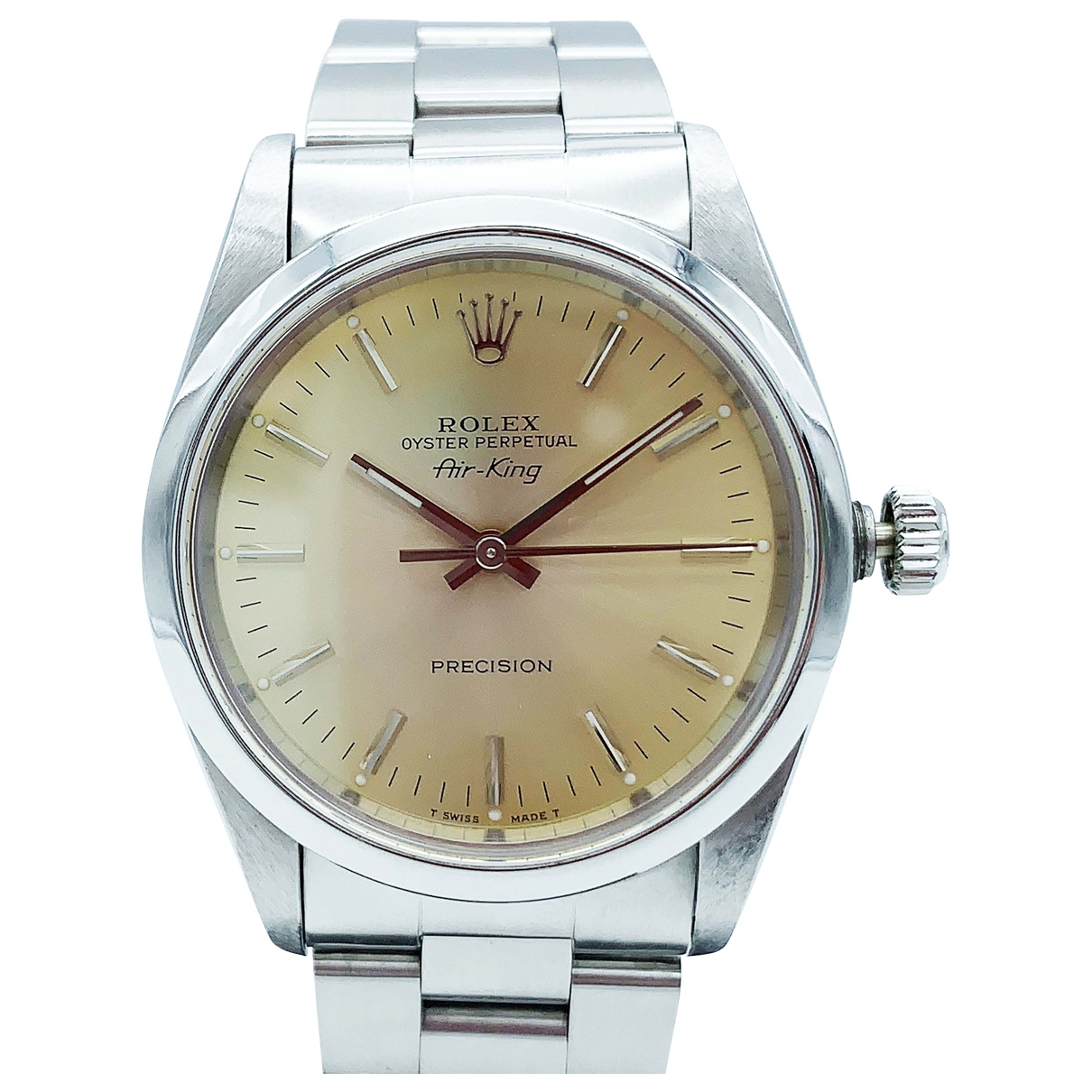 Rolex Air King Uhr in  Kamel Stahl