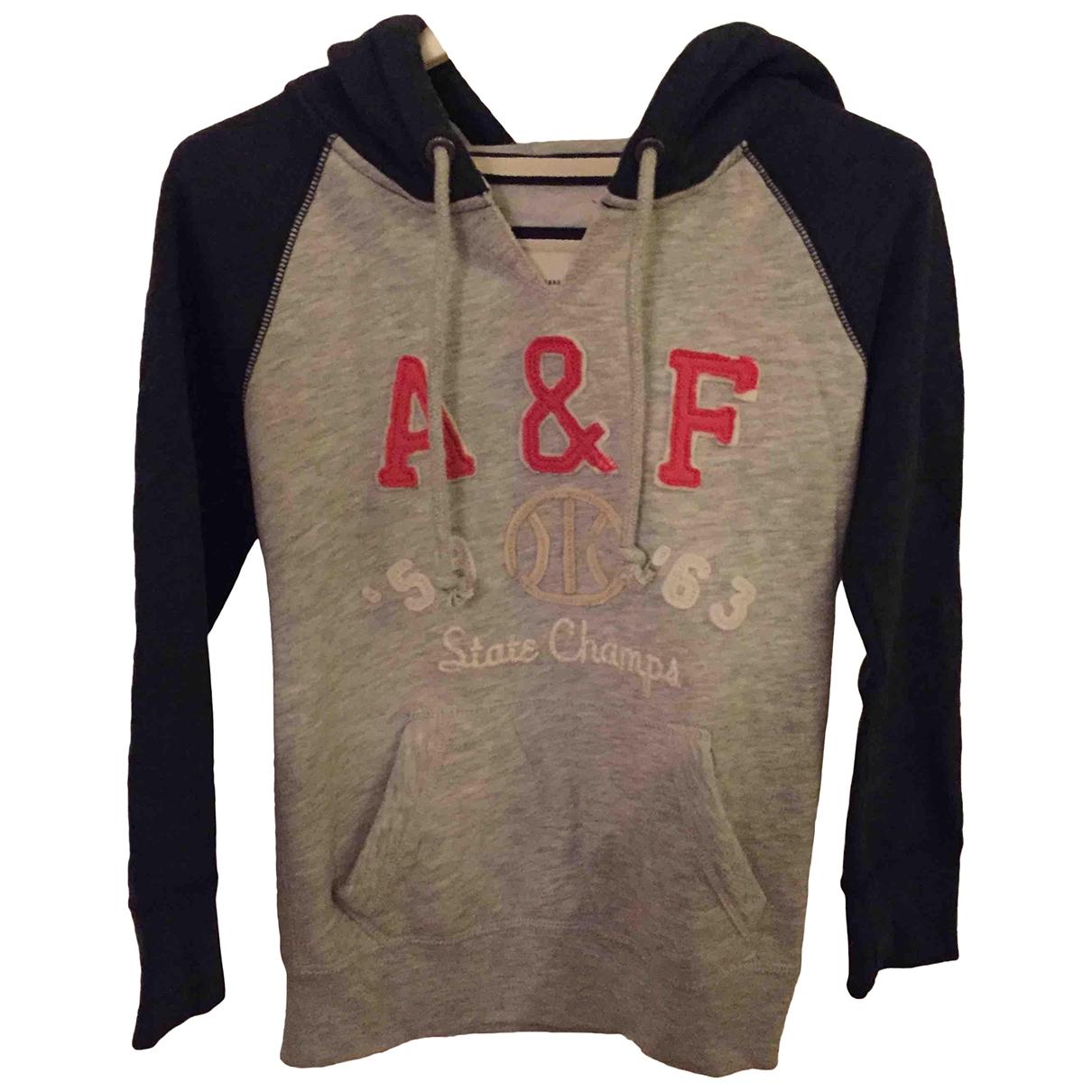 Abercrombie & Fitch \N Grey Cotton Knitwear for Women 36 FR