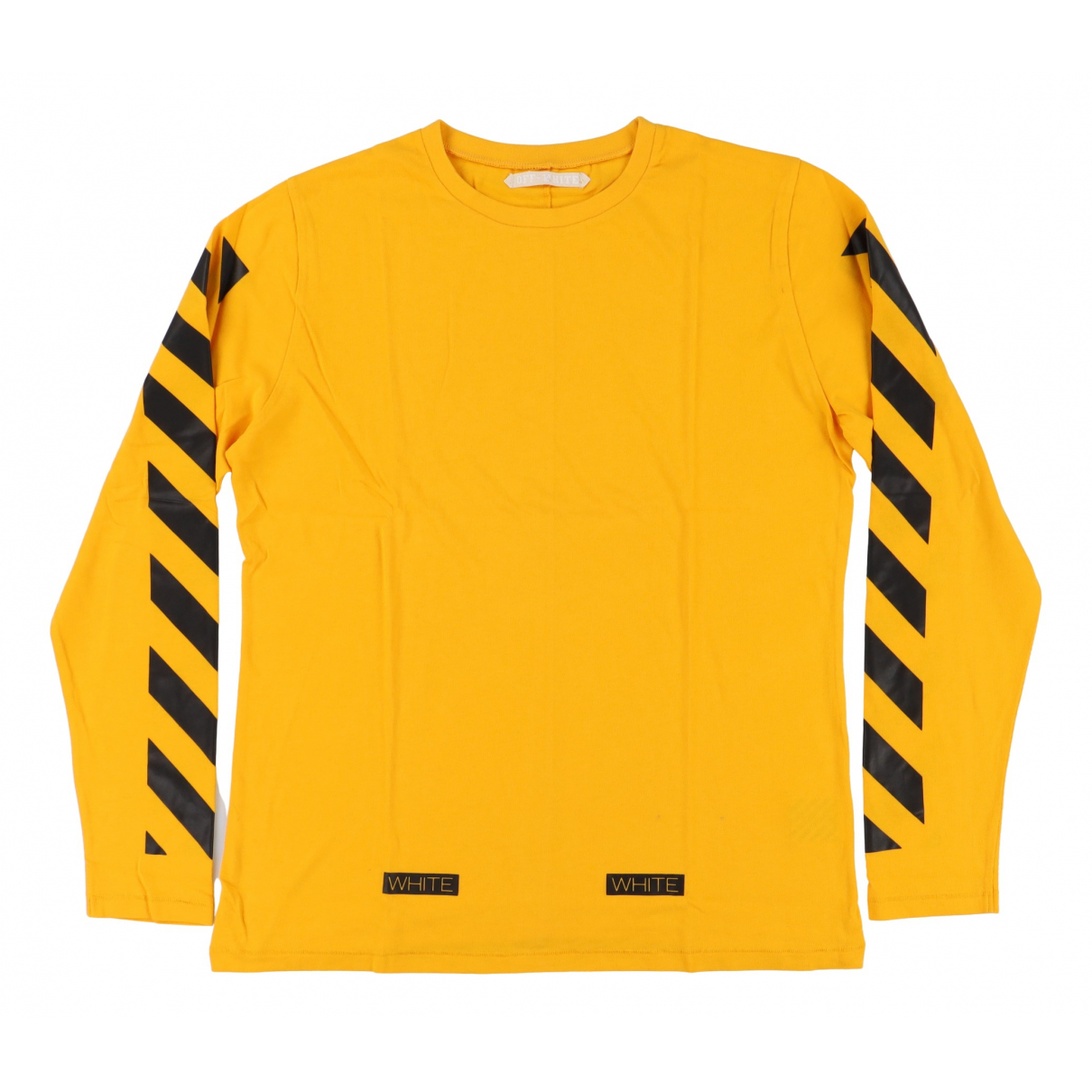 Off-white \N T-Shirts in  Gelb Baumwolle