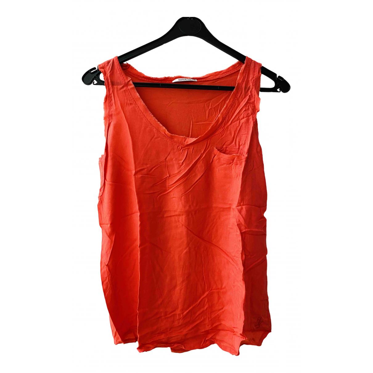 Bimba Y Lola \N Orange Cotton  top for Women S International