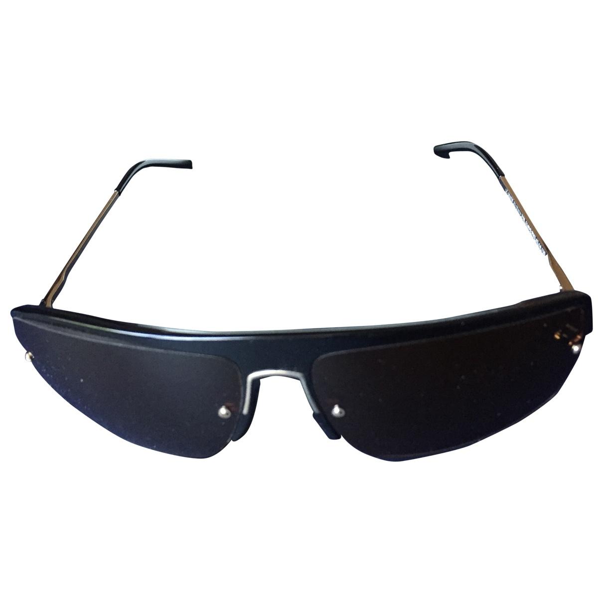 Yves Saint Laurent \N Brown Metal Sunglasses for Women \N