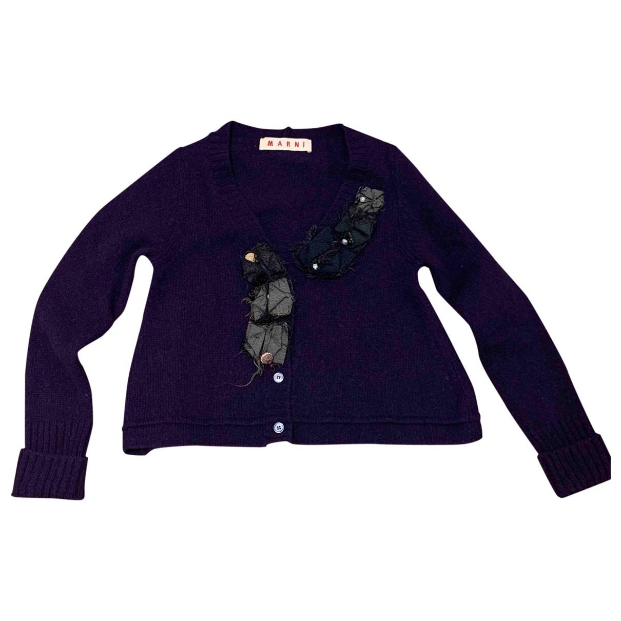 Marni - Pull   pour femme en laine - violet