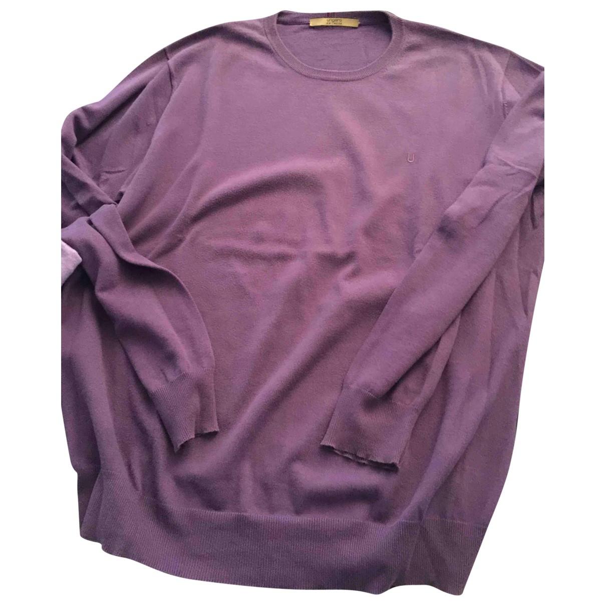 Emanuel Ungaro \N Pullover.Westen.Sweatshirts  in  Lila Baumwolle