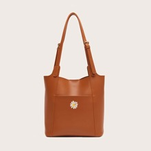 Daisy Graphic Tote Bag