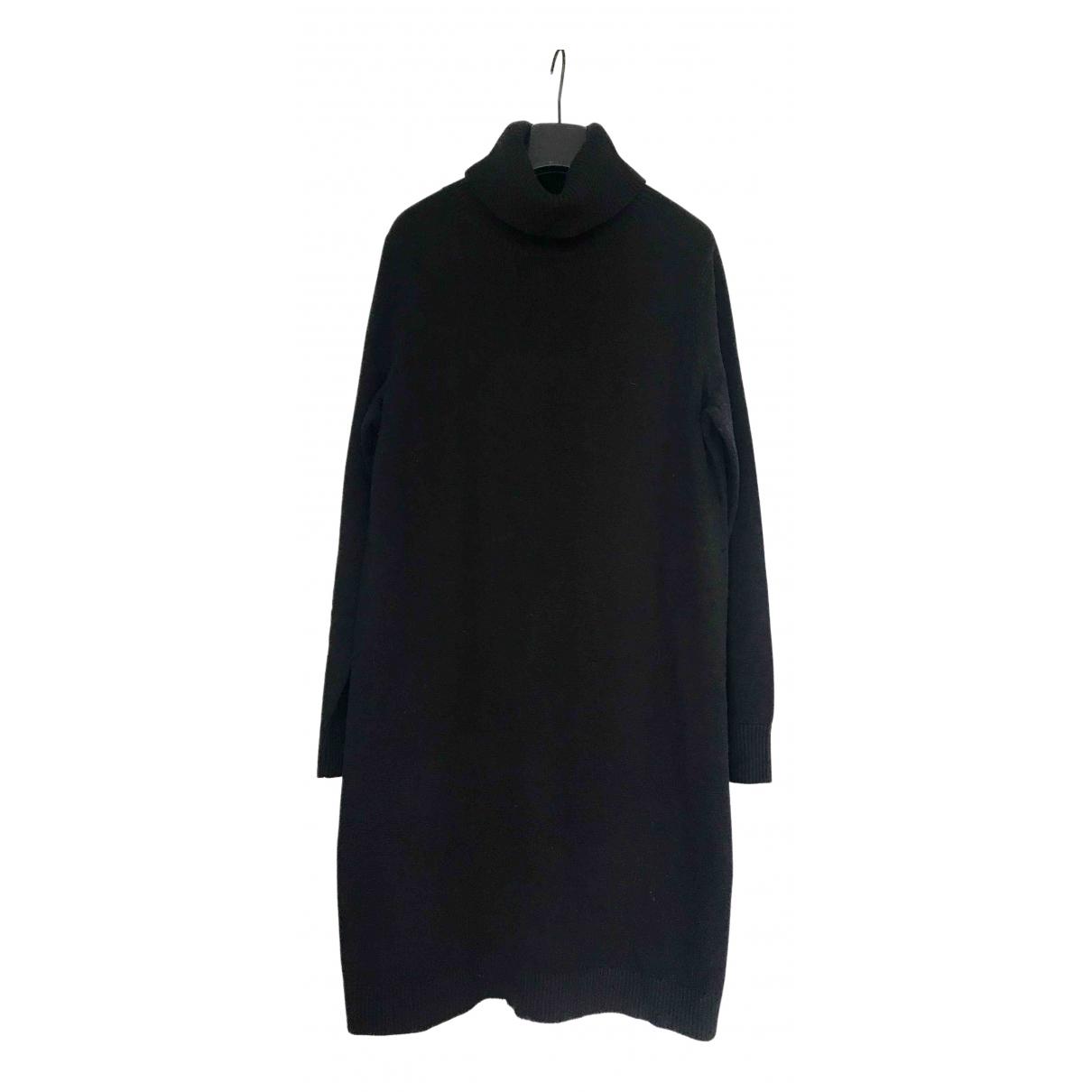 Boss Orange - Robe   pour femme en coton - noir