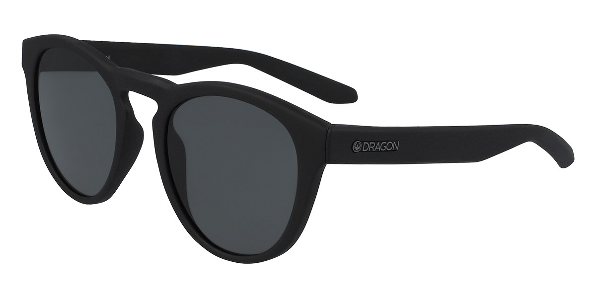 Dragon Alliance DR OPUS LL H2O Polarized 002 Men's Sunglasses Black Size 51