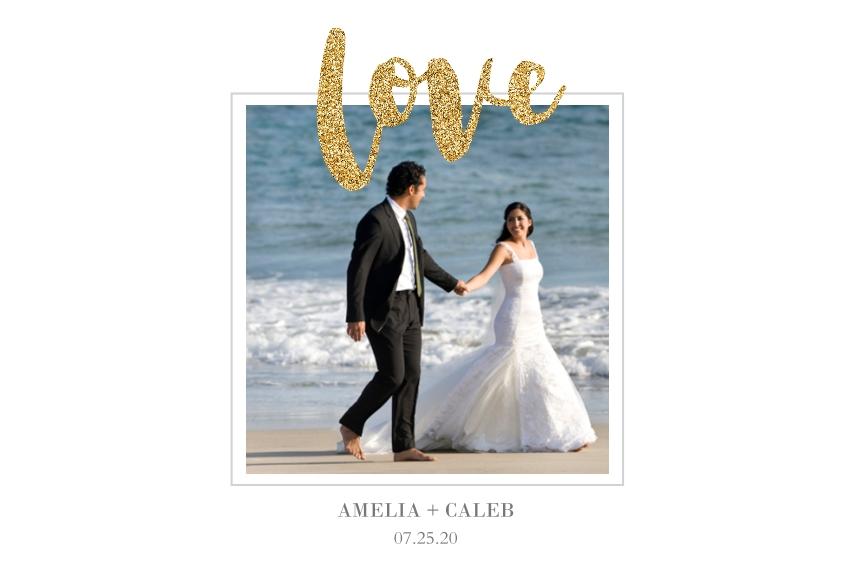 Love 24x36 Poster , Home Décor -Love Glitter
