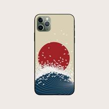 1pc Sunset Print iPhone Case