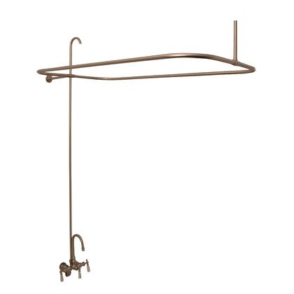4122-SN Shower Unit for Acryl Tubs  No Showerhead  Brushed